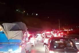 ترافیک سنگین جنوب به شمال در هراز