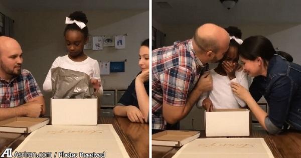زوج آمریکایی و سرپرستی 3 کودک سیاه پوست/ ویدئویی که در فیسبوک 17 میلیون بازدید داشت(+فیلم و تصاویر)