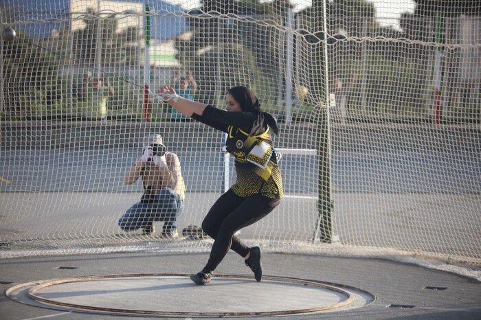 شکست رکورد پرتاب با نیزه زنان ایران