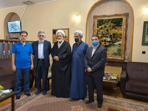 ديدار كرباسچی و محمد قوچانی با كروبی بعد از ۱۰ سال