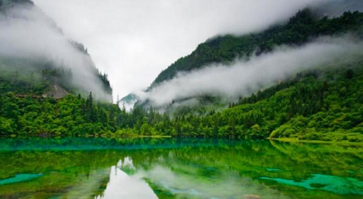 طبیعت بکر دره جیوژایگوی چین (+عکس)