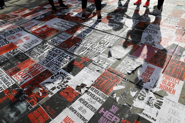 تظاهرات آمریکا علیه نزادپرستی
