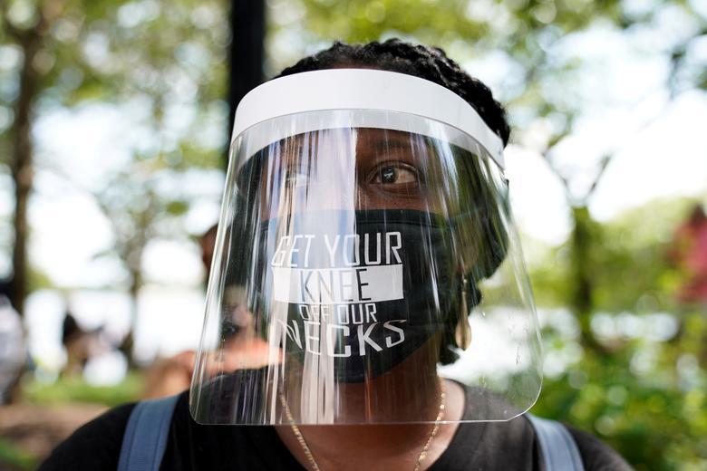تظاهرات آمریکا زندگی سیاهان مهم است