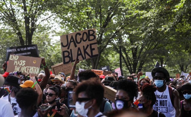 تظاهرات آمریکا ضد نژادپرستی