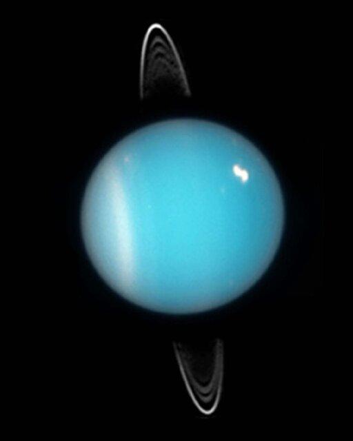 """آیا میدانستید """"اورانوس"""" حلقه دارد"""