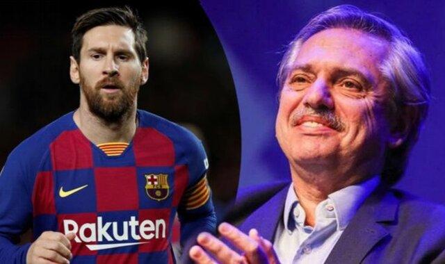 رییس جمهور آرژانتین خواهان بازگشت مسی به وطنش شد