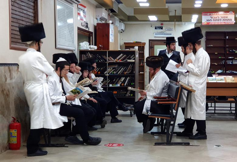 سال نوی یهودیان در میان کرونا (+عکس)