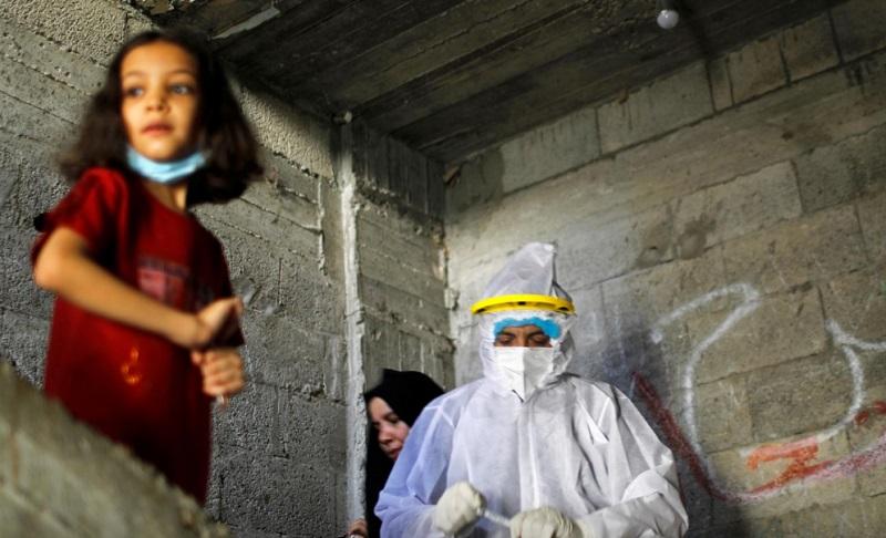 راهکار مرد غزه در دوران کرونا ماسک