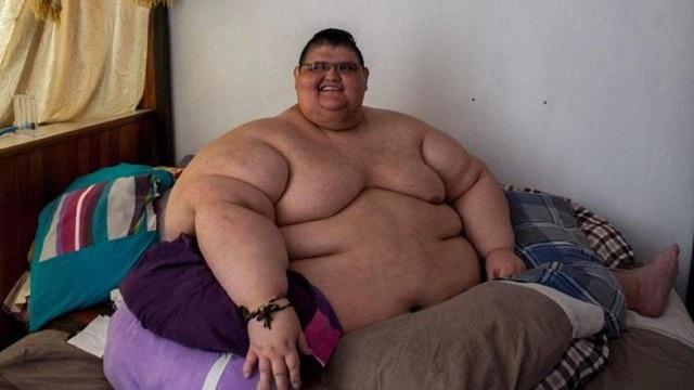 چاقترین مرد جهان کرونا را شکست داد