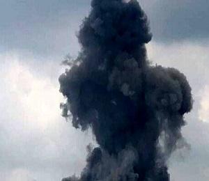 انفجار در شهرک صنعتی رازی شهرضا در اصفهان