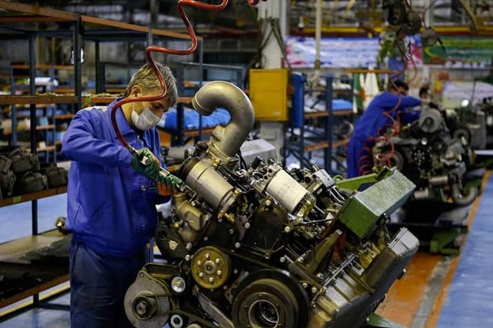 تولید موتور دیزلی OM355 با استاندارد یورو 5