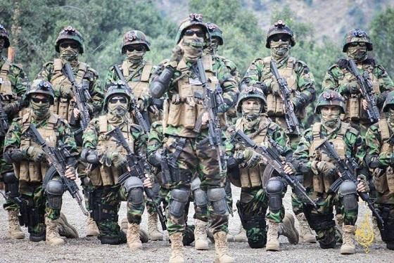 فارغ التحصیلان جدید آموزشگاه نظامی طالبان +عکس