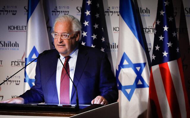 سفیر آمریکا در اسراییل: ایران مهمترین مساله خارجی انتخابات آمریکاست