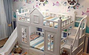 جدیدترین مدل های تخت بچه گانه (+عکس)