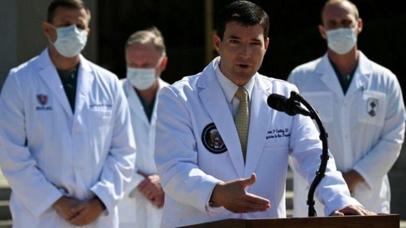 دکتر شون کانلی پزشک دونالد ترامپ