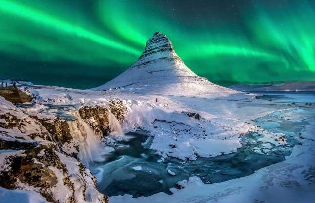 کرکجوفل در ایسلند