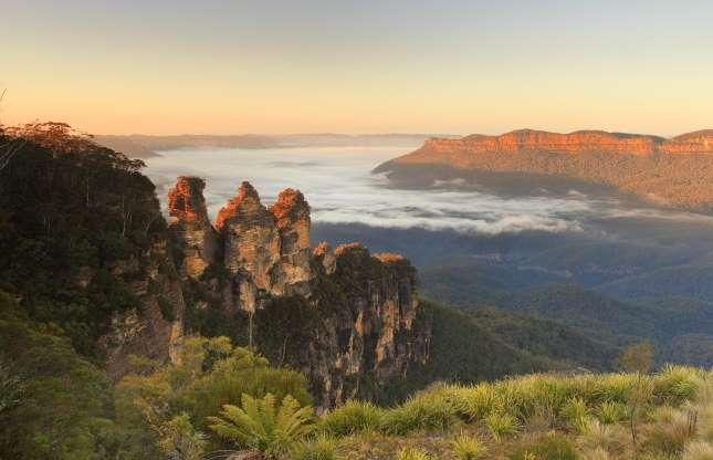 سه خواهر، کوهستان آبی در نیوساوت ولز استرالیا