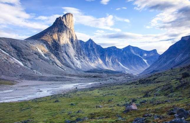 قله ثور، کوههای بافین، نوناووت، کانادا