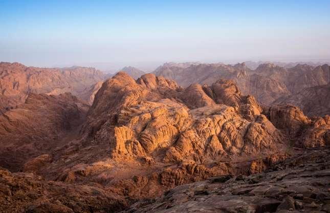 کوه سینا در مصر