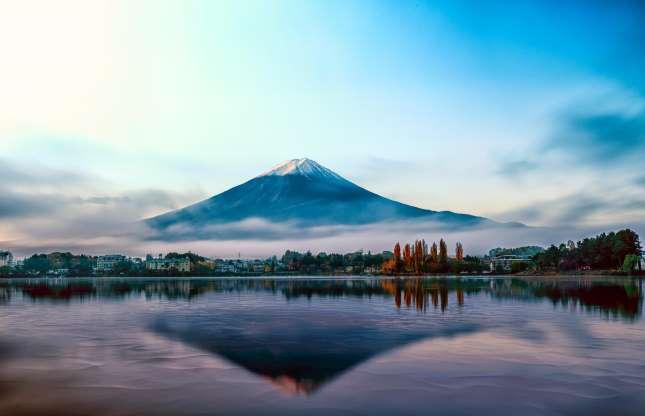 کوه فوجی در ژاپن