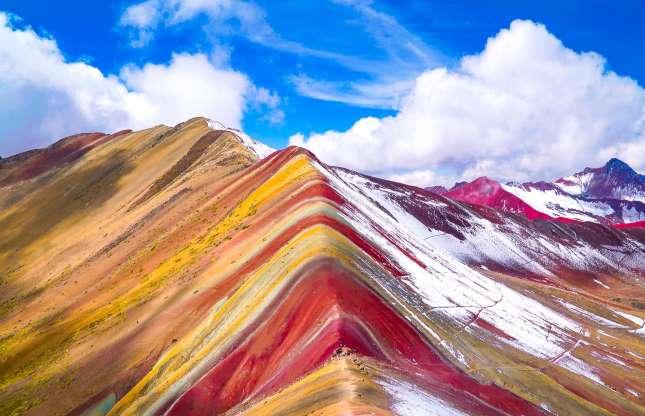 وینیکونکا، آند در پرو
