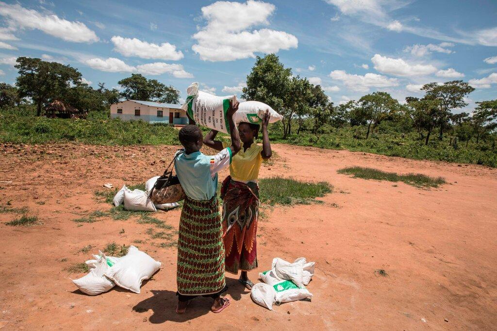 کمک آژانس برنامه جهانی غذا به مردم آفریقا