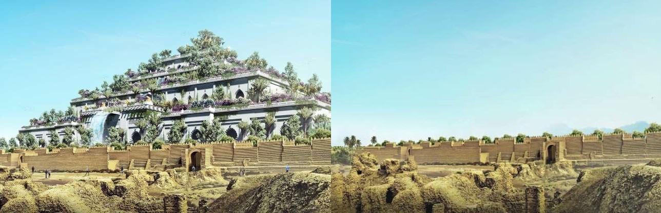 باغهای معلق بابل در عراق