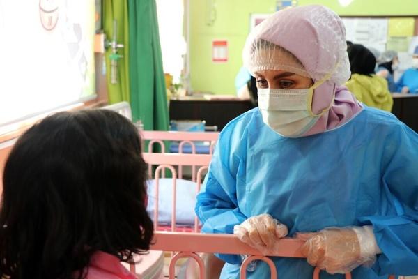 کرونا در مازندران/ ابتلای ۶۰۰ نفر از کادر درمانی بابل/ بستری ۲۵۹ کودک