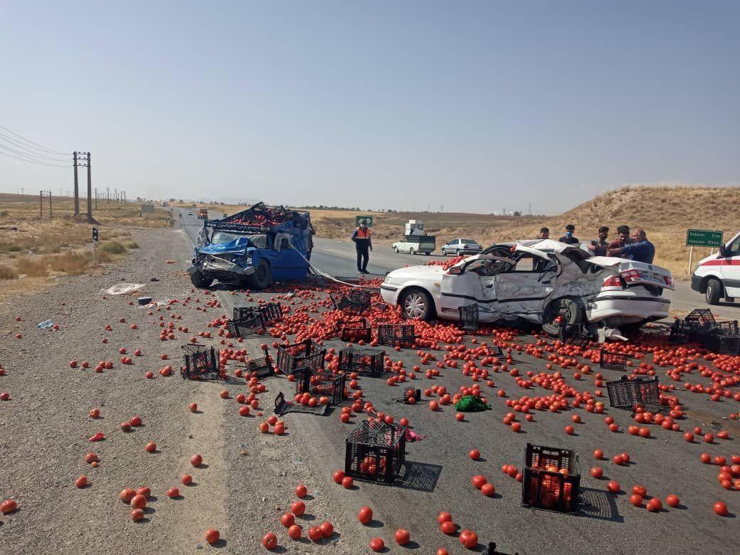 3 کشته در تصادف جاده قدیم ساوه-همدان