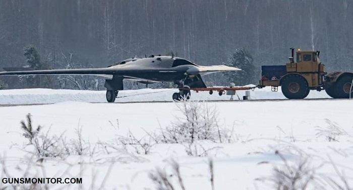 سوخو S-70 اوخوتنیک-بی؛ پهپاد جت رادار گریز روسیه! (+عکس)