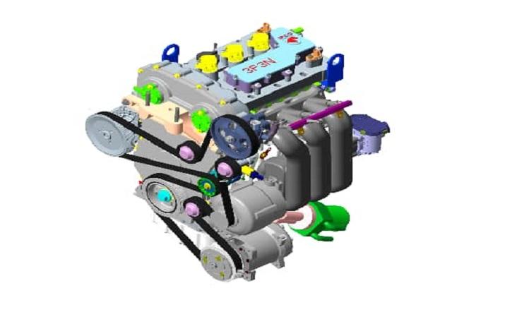 ایران خودرو: موتور تمامی محصولات تولیدی تغییر می کند / موتورهای سه استوانه جدید جایگزین موتورهای فعلی