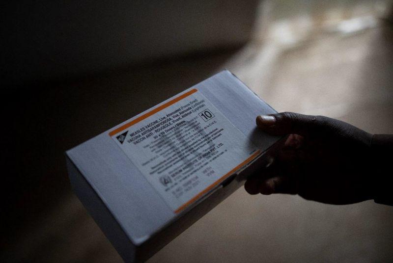 واکسن هندی سرخک در کنگو