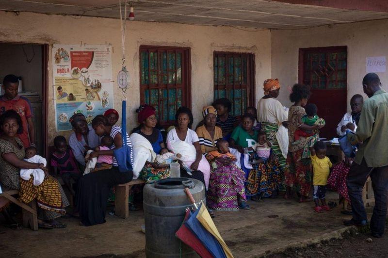 سرخک در جمهوری دموکراتیک کنگو