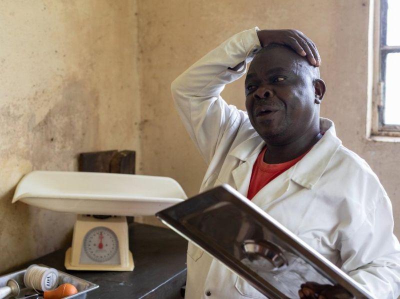 مرکز درمانی در کنگو