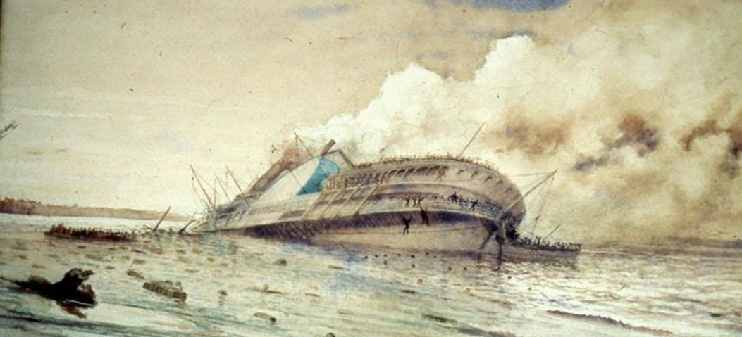 کشتی فراموششده با قربانیانی بیشتر از تایتانیک (+عکس)