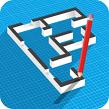 دانلود نرم افزار نقشه کشی برای موبایل - Floor Plan Creator