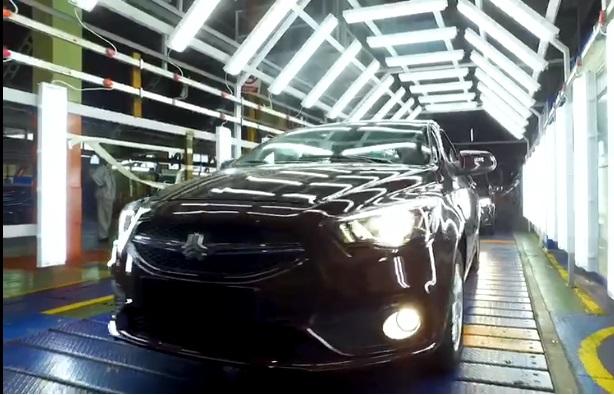 تولید آزمایشی خودروی جدید