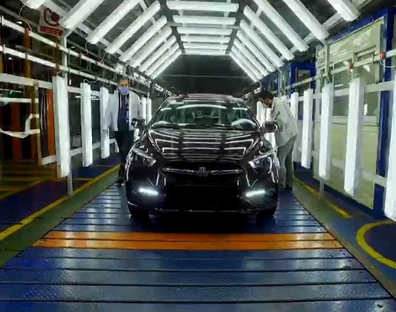 تولید خودروی جدید