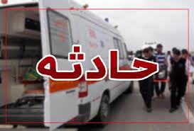 ۵ کشته در حادثه واژگونی اتوبوس در محور کاشان_قم