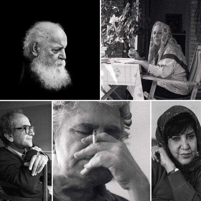 اسکویی عکس ۵ چهره ادبی را هم به مردم هدیه کرد (+عکس)