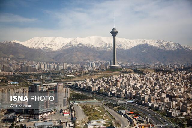 نرخ سالیانه فرونشست شهر تهران چقدر است؟