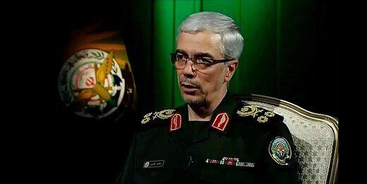 هشدار قاطع رئیس ستادکل نیروهای مسلح به امارات و بحرین