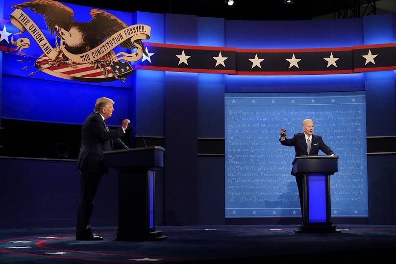 نخستین مناظره انتخابات ریاست جمهوری آمریکا