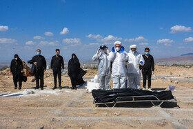 سبقت آمار دفن شدگان کرونا از فوت شدگان معمولی در تبریز