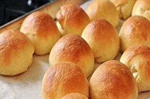 طرز تهیه نان فانتزی خانگی در فر