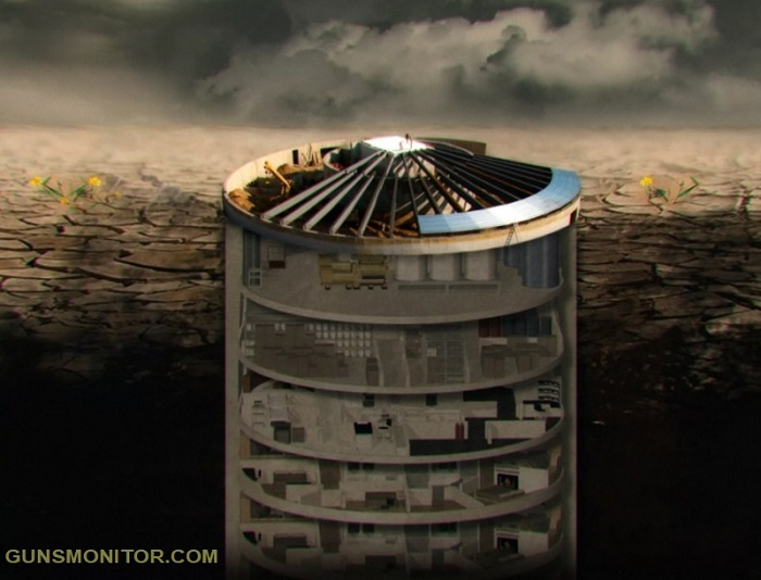 سیلوی موشکی لوکس ویژه ثروتمندان در آخرالزمان اتمی!(+عکس)