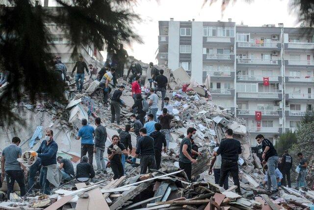 فوت ۸۱ تن در زلزله اخیر ترکیه