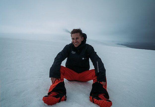 اولین مرد آهنین قطب جنوب