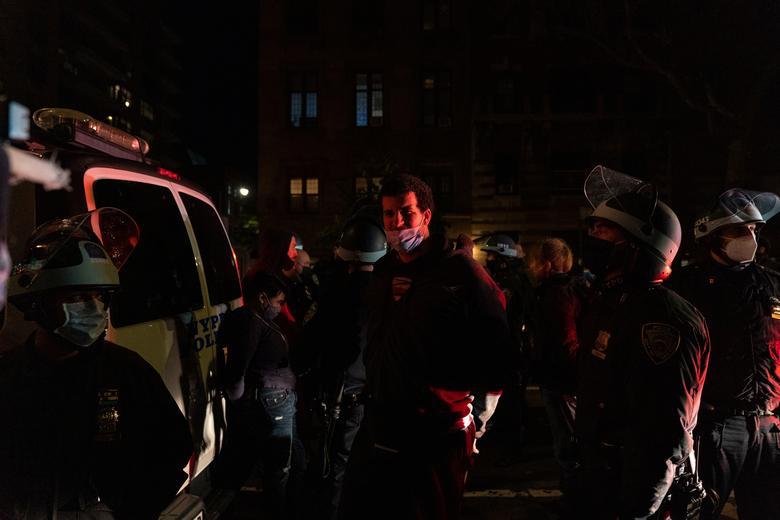 تجمع خیابانی پس از انتخابات در  آمریکا (+عکس)