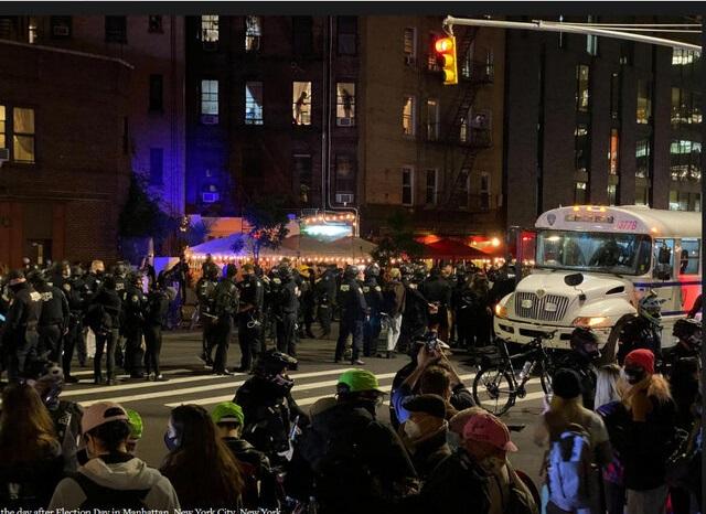 اعتراضات خیابانی